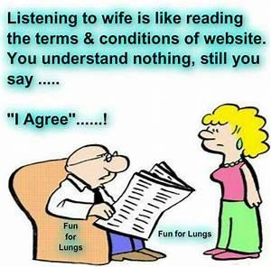 fuuny husband w... Fun Wife Quotes