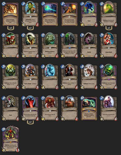 hearthpwn arena deck builder post your 9 0 arena decks the arena