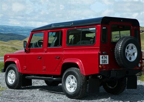 red land rover old land rover defender red gallery moibibiki 2