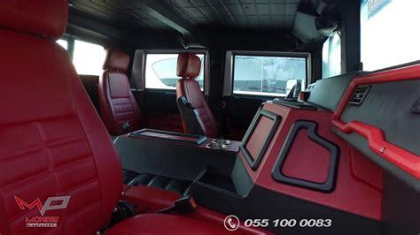 hummer  interior custom design  monster performance