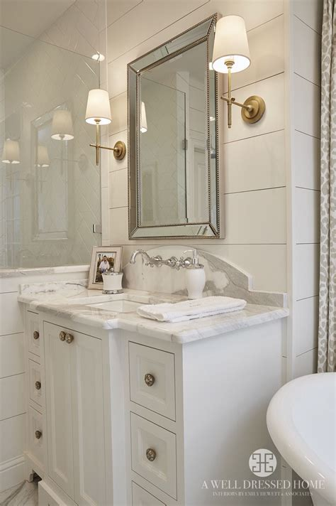 Bathroom Mirror Sconces by Ship Walls Painted White Dove By Benjamin New