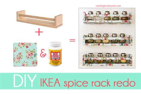 Creative Spice Rack by Diy Ikea Spice Rack Redo Oh My Creative