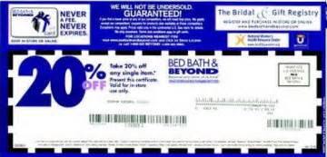 Bed Bath And Beyond Online Coupons Gallery