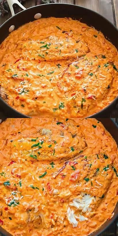 Tilapia Sauce Roasted Pepper Recipes Salsa Recipe