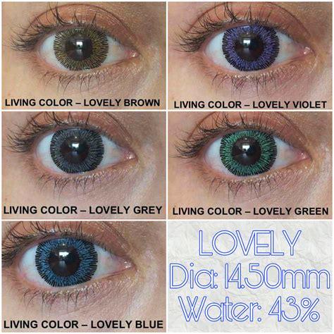 softlens lovely living color murah softlens living color adore lovely dnuth softlens center