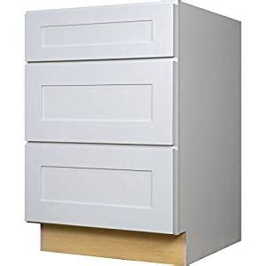 rta kitchen base cabinets everyday cabinets 24 inch three drawer base 4912