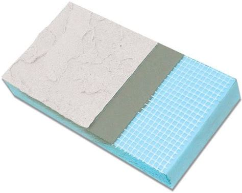 styro industries cairn prefinished stucco foundation insulation panel       outdoor