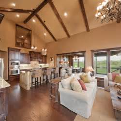kitchen living space ideas this layout kitchen open to family room breakfast area offset kitchen and deck