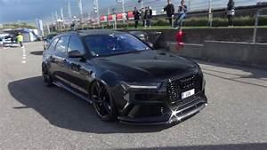 LOUD Widebody Audi RS6 Avant C7 With DECAT MILLTEK EXHAUST