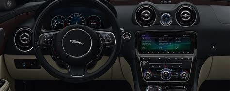 jaguar xj interior features dimensions tech