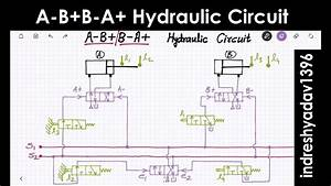 A-b B-a  Hydraulic  Pneumatic Circuit - Series Part-3
