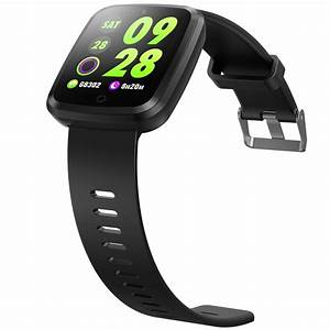 V6 Smart Watch Color Screen Fitness Tracker Blood Pressure