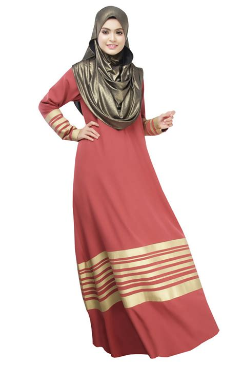 latest young girls high quality wine red arabic dress