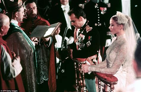 prince rainier grace kelly s wedding to to prince rainier of monaco is still the most glamorous daily mail online
