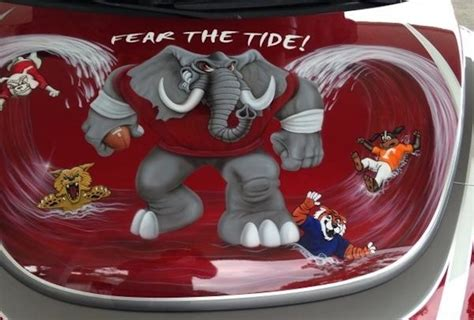alabama roll tide car