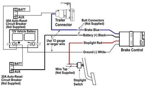 brake controller wire functions  color