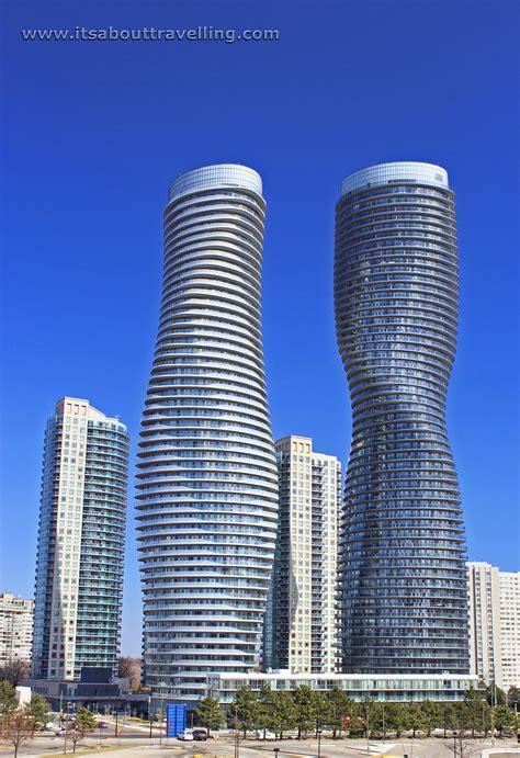 Mississauga Ontario City Centre Compare Photos