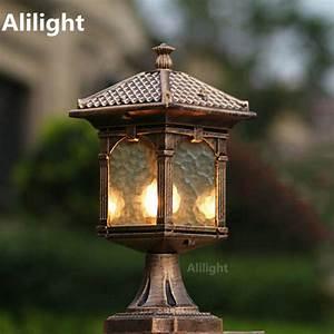 online get cheap stone garden pillars aliexpresscom With outdoor light fixtures for pillars