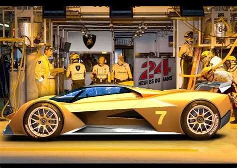 Find out who will battle it out in this new top class. Lamborghini Le Mans Concept Rendering - Car Body Design