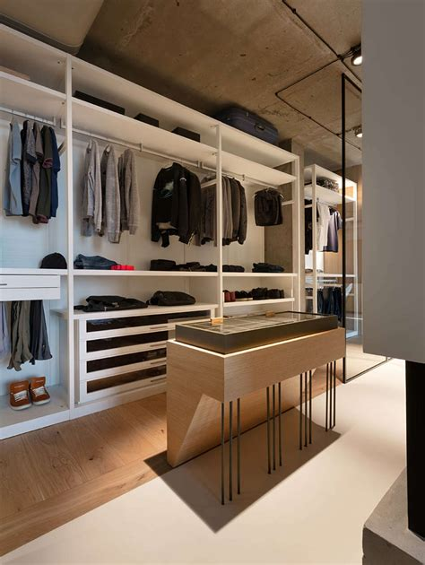 Open Closet Design by A Quot Smart Quot Penthouse In Kiev Is The Pad