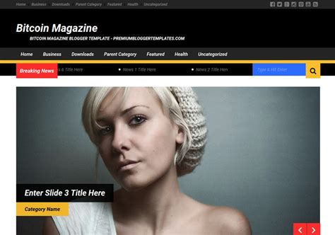 Bitcoin magazine is one of the original news and print magazine publishers specializing in bitcoin and digital bitcoin journaal #27: Bitcoin Magazine Blogger Template • Blogspot Templates 2021
