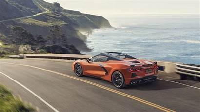Corvette C8 Road Chevrolet Orange 1080p