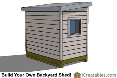 6 x 8 wooden shed plans 6x8 modern shed plans by icreatables