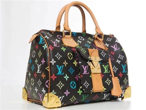 louis vuitton limited edition takashi murakami collection speedy  hand bag  sale  stdibs