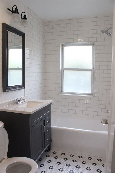 farmhouse tile shower zy roccommunity