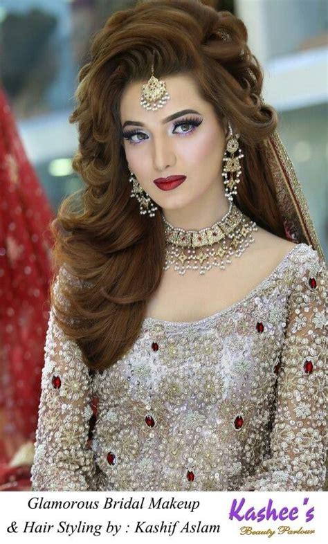 kashees pakistani bridal makeup  hairstyling  kashif