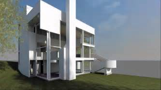 2 floor house richard meier 39 s the smith house