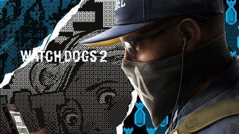 wallpaper hacker marcus  dogs  games