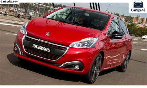 Peugeot 208 Price by Peugeot 208 2017 Prices And Specifications In Car