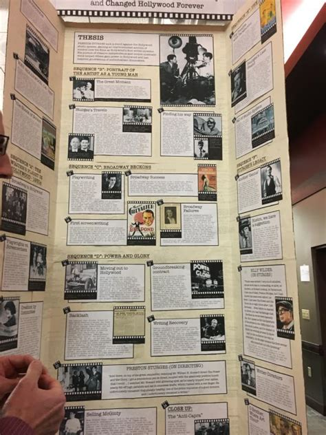 history fair display board examples