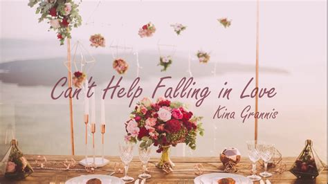 Can't Help Falling In Love Cover By Kina Grannis (lyrics