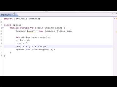java programming tutorial 8 math operators youtube