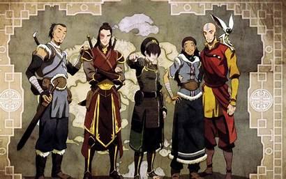 Airbender Avatar Last Aang Wallpapers Desktop Katara
