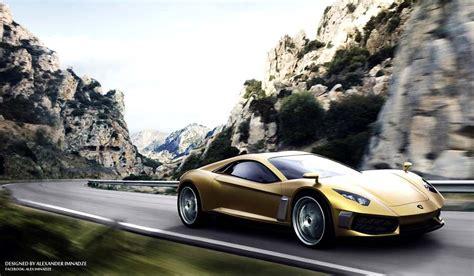 Lamborghini Supercar Concept By Alex Imnadze