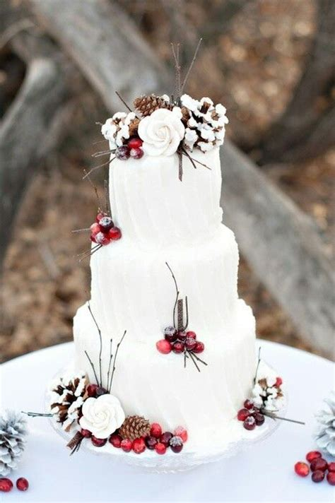 christmas wedding cakes ideas  pinterest
