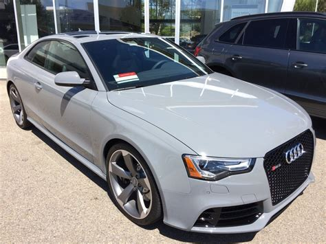 Audi Rs5 Grey by Audi Exclusive Rs5 Quattro In Nardo Gray Fancy