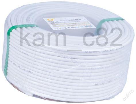 sat kabel 20m koaxi 225 ln 237 ant 233 nn 237 tv sat kabel cu 6 8 mm 20m start 233 ry altern 225 elektropohony
