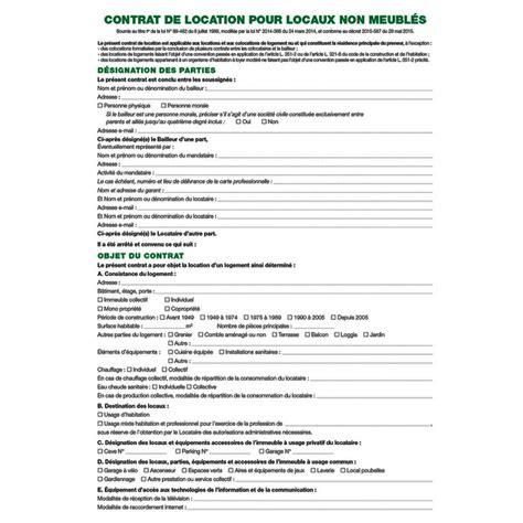 bureau a louer exacompta contrat de location de locaux vacants registre