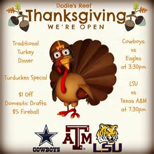 dodie 39 s reef will be open for thanksgiving dodies reef