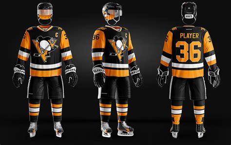 ice hockey uniform template  behance