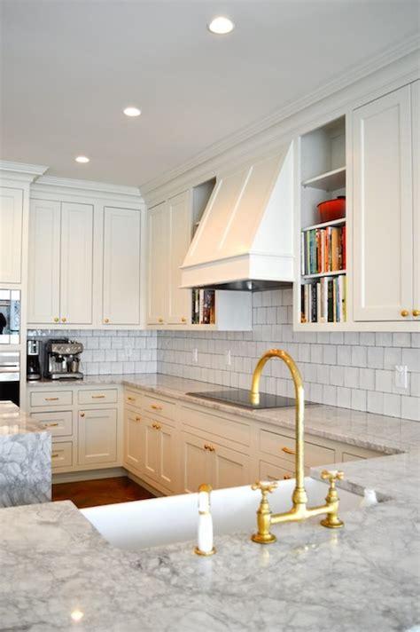 gold kitchen faucet transitional kitchen amanda orr