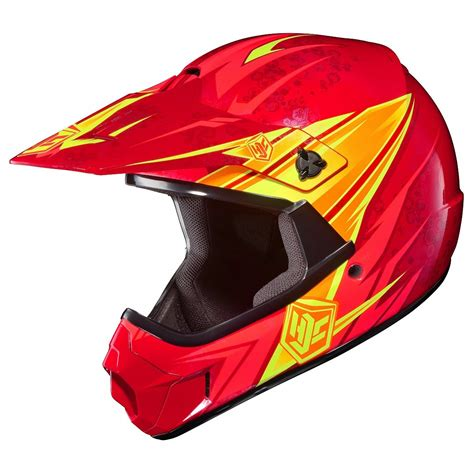 hjc motocross helmets hjc cl xy pop n 39 lock youth helmet kids helmets kids