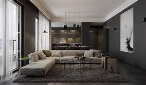 8 living room interior designs and layout with dramatic With interior design small dark rooms