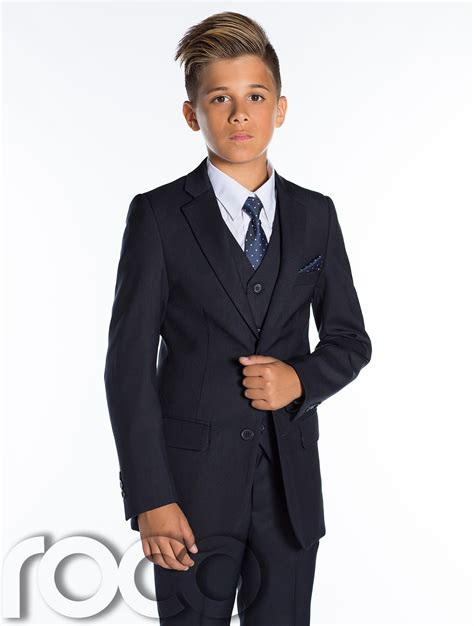 Boys Navy Suits, Page Boys Suits, Boys Wedding Suits, Prom ...