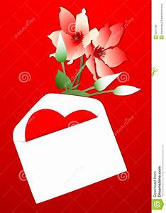 Valentines Day Card Or Letter Stock Vector - Image: 4247106