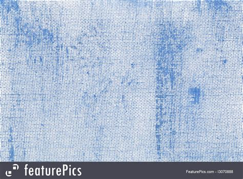 Blue Abstract With Canvas Texture